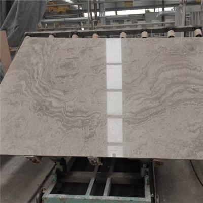 White wood marble slab